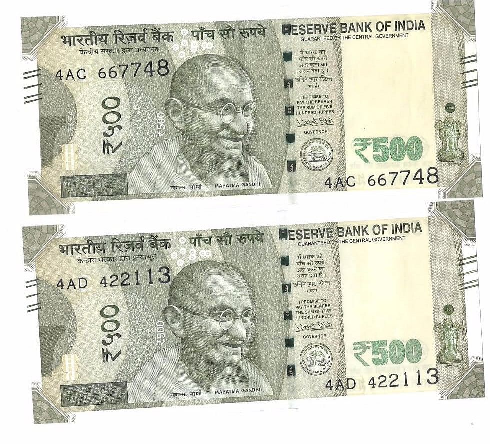 Millions of defective new Rs 500 notes are now in circulation even as RBI has declared them legal tender. (Photo: <b>The Quint</b>)