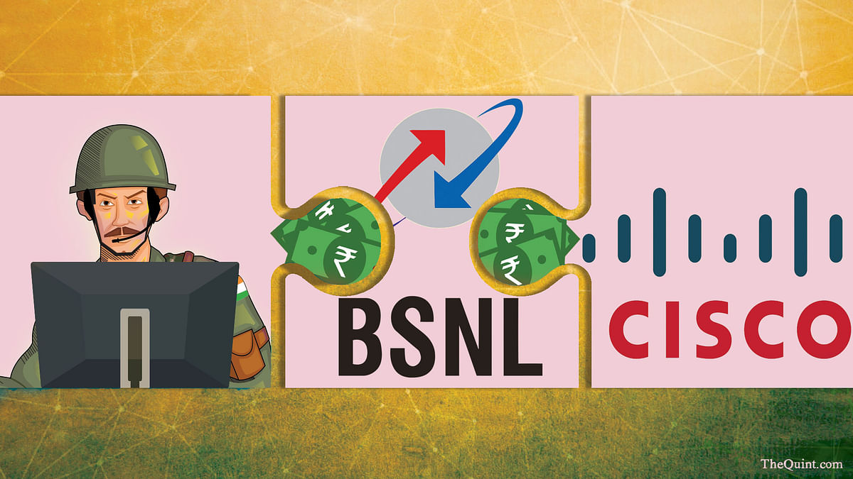 Why did the army first seek dilution of a tender clause but two months later made BSNL retain it? (Photo: <b>The Quint</b>)
