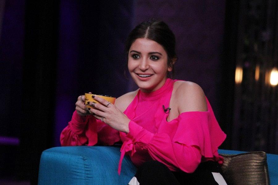 Anushka Sharma speaks her mind on <i>Koffee With Karan</i>. (Photo courtesy: Star World)
