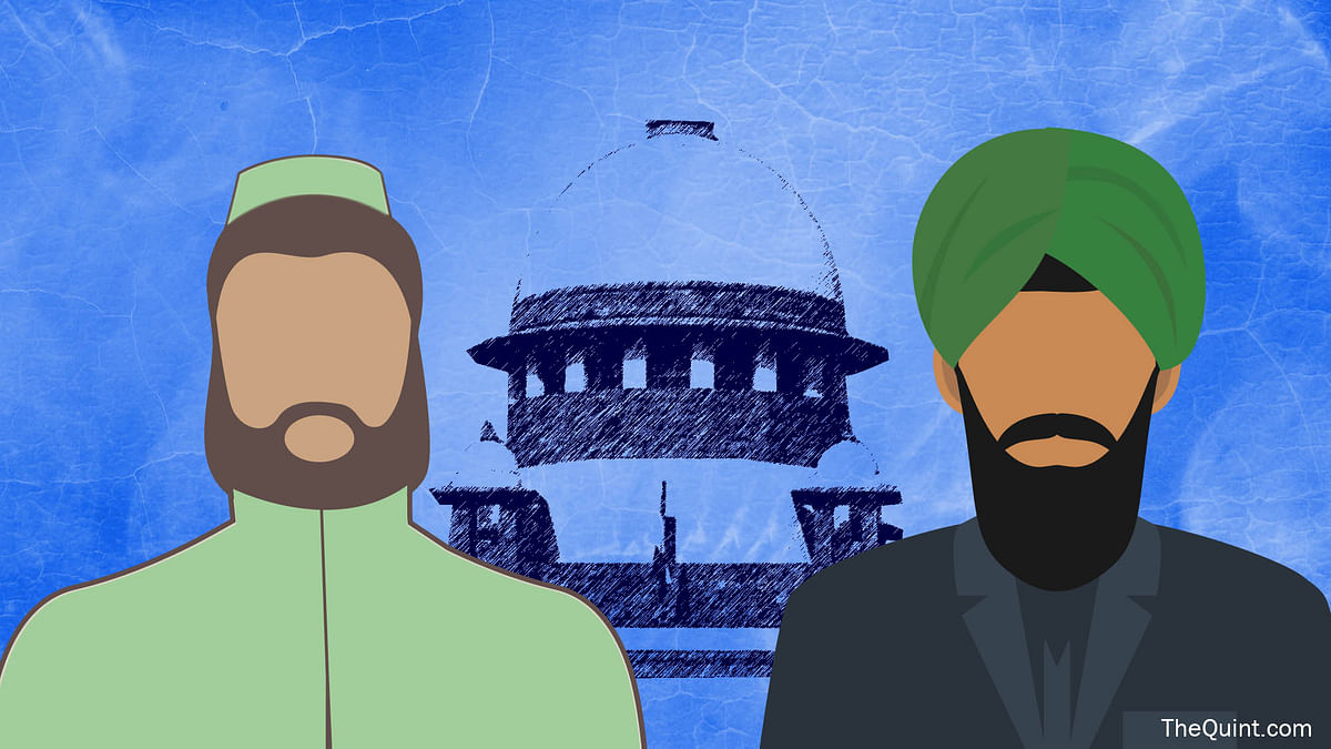 Supreme Court justifying 'no beard' rule for Muslim IAF officers doesn't answer the question of religious freedom. (Photo: Rhythum Seth/ <b>The Quint</b>)