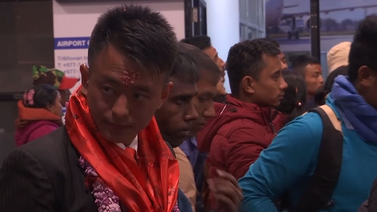 Nepal exports iron and steel, carpets, some vegetables - but mainly, Nepal exports men, about 500,000 a year. (Photo: AP screengrab)