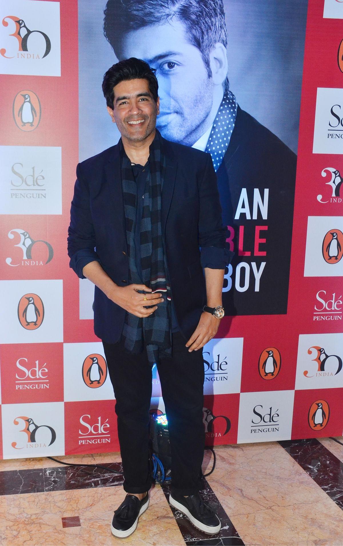 Manish Malhotra, one of Karan Johar's closest friends. (Photo: Yogen Shah)