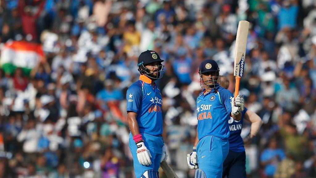 Yuvraj Singh and Mahendra Singh Dhoni (Photo: AP)
