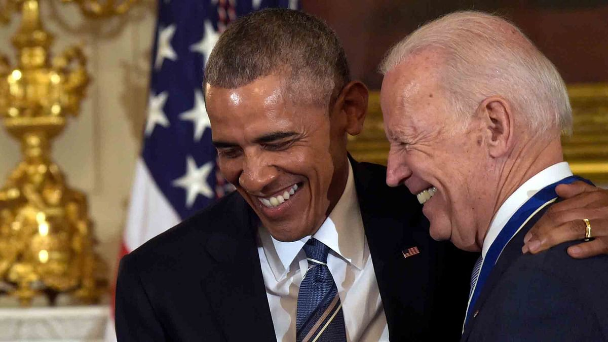 Obama Surprises Biden With the Presidential Medal of Freedom