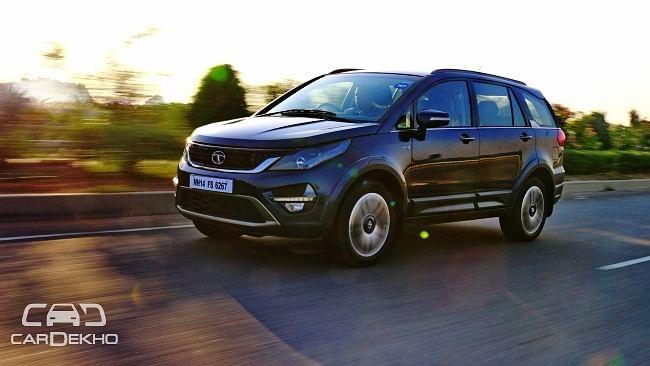 Tata Hexa SUV is here. (Photo Courtesy: CarDekho)