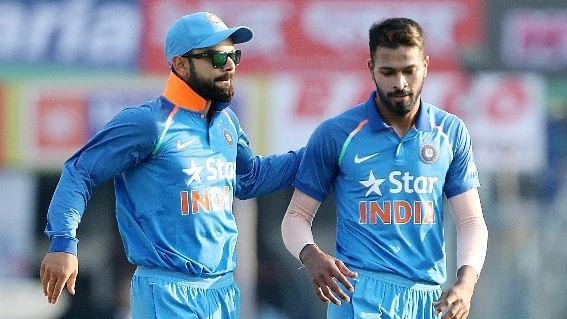 Virat Kohli and Hardik Pandya.