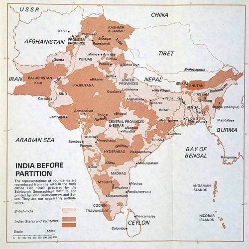 "Map of undivided India before 1947. (Photo: <a href=""https://in.pinterest.com/pin/61080138666194157/"">Pinterest)</a>"