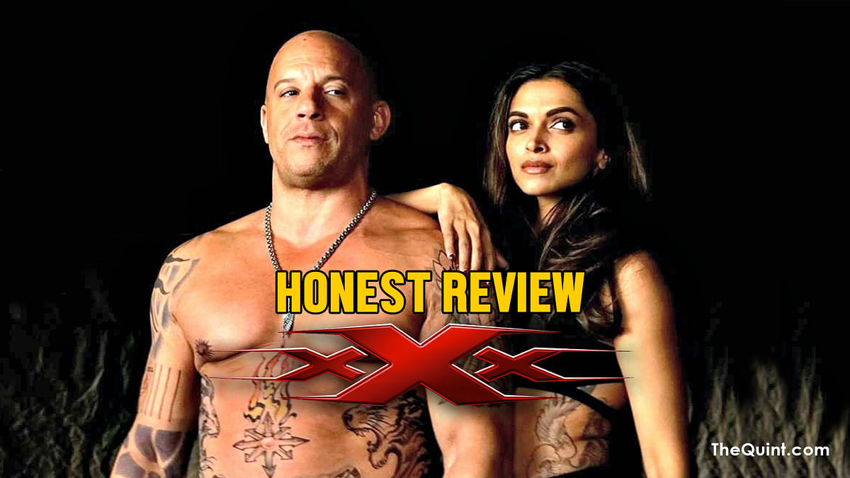 Is Vin Diesel-Deepika Padukon starrer <i>XXX: Return of Xander Cage </i>any good? Here's an honest review. (Photo: Altered by <b>The Quint</b>)