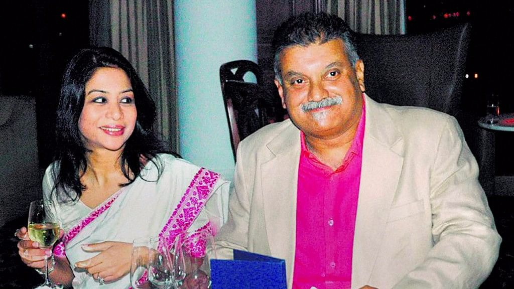 A file photo of Indrani and Peter Mukerjea.