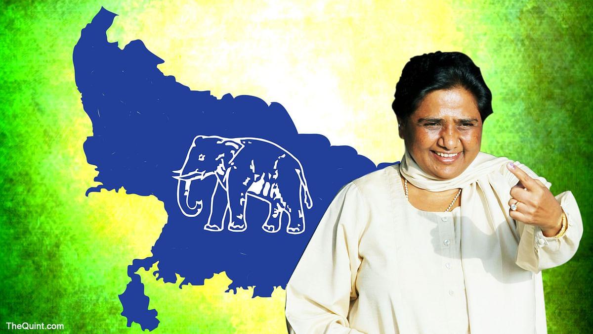 BSP supremo Mayawati. (Photo: <b>The Quint</b>)