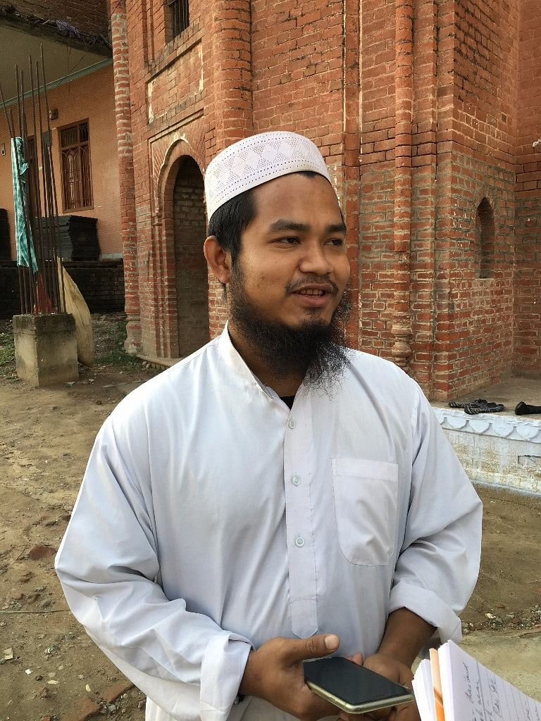 Mehdi, a student at Darul Uloom from Thailand. (Photo: Abhilash Mallick/<b>The Quint</b>)