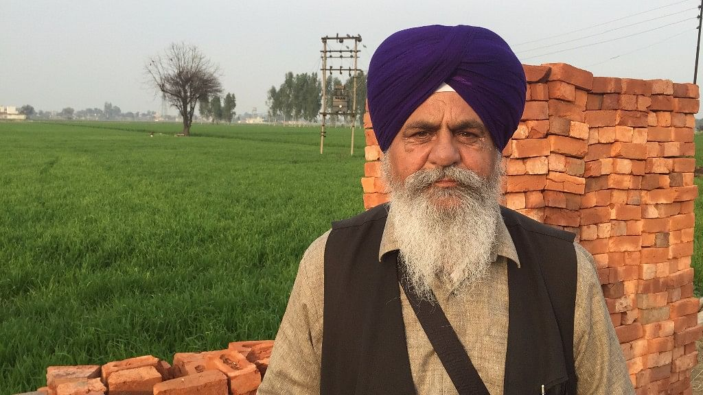 """A true Sikh will not vote for the Akali Dal,"" says Baldev Singh, former SGPC member. (Photo: Parth MN/<b> The Quint</b>)"