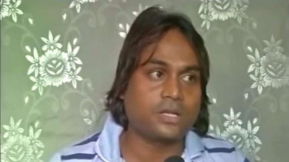 Mohammad Kaif, alleged sharpshooter of controversial RJD leader Mohammad Shahabuddin. (Photo Courtesy: YouTube Screenshot)