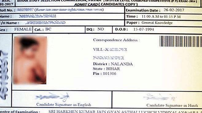 Bihar SSC Puts Topless Actress' Photo on Student's Admit Card