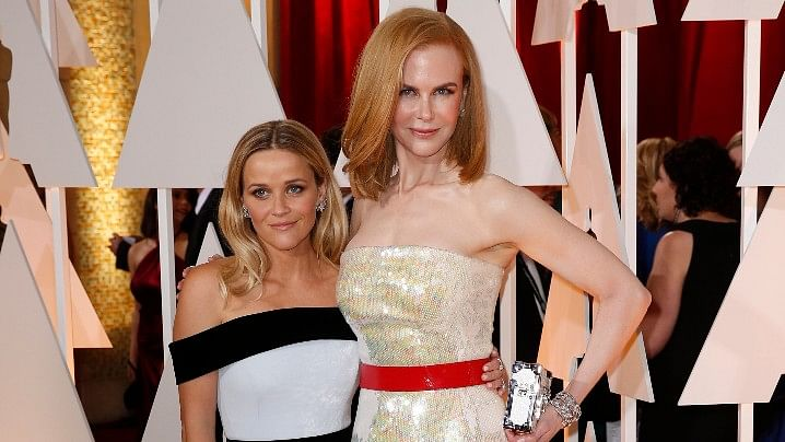 Reese Witherspoon and Nicole Kidman star together in the upcoming <i>Big Little Lies</i>. (Photo: Reuters)