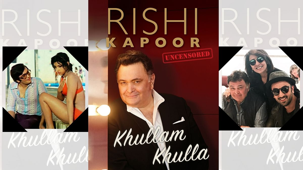 Rishi Kapoor's autobiography reveals a lot about the actor's professional and personal life down the years.