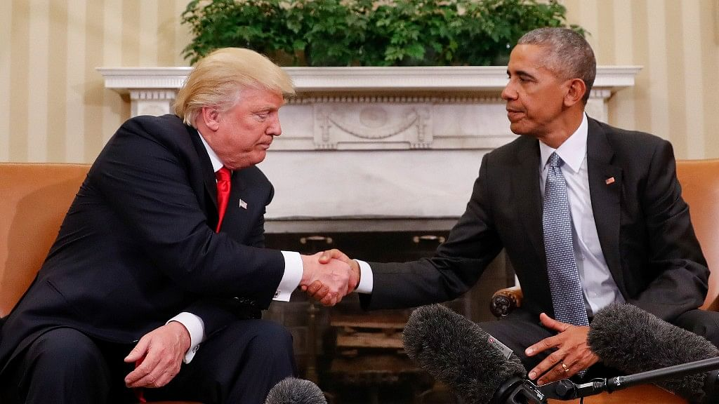 Obama said his relationship with President-elect Trump are cordial. (Photo: AP)