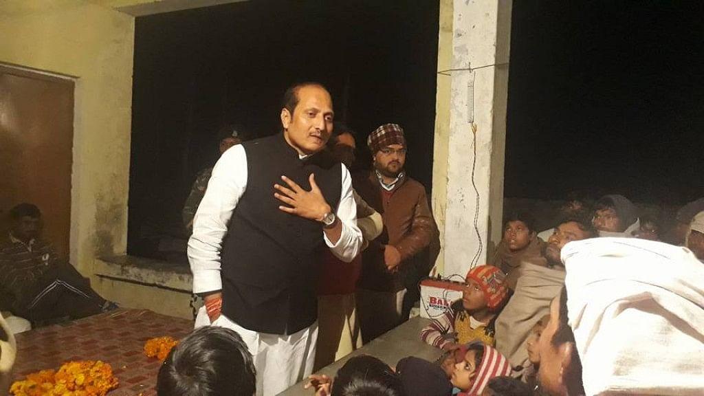 File image of BJP MLA Suresh Rana.