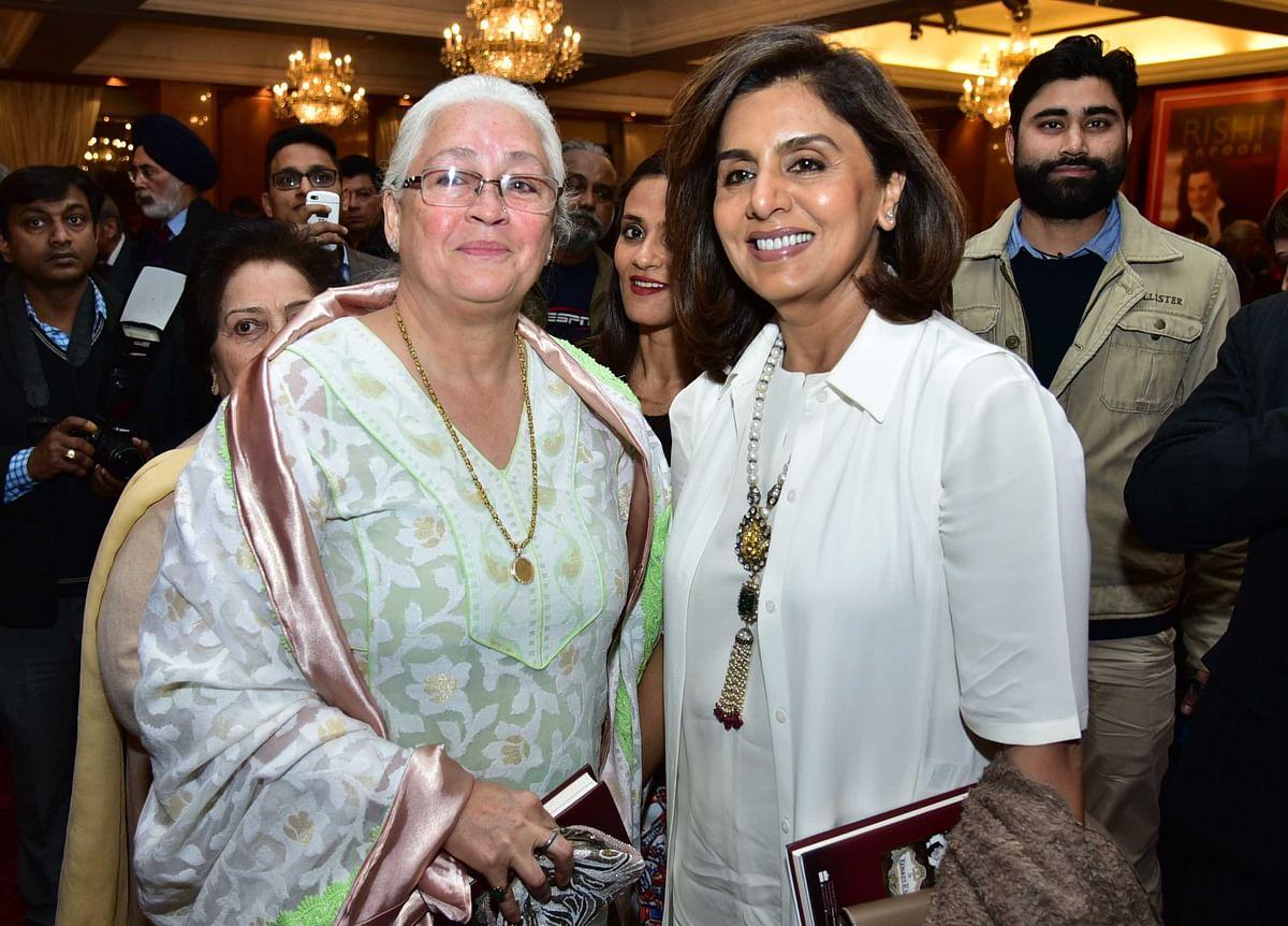 Neetu Singh and Nafisa Ali. (Photo: Yogen Shah)