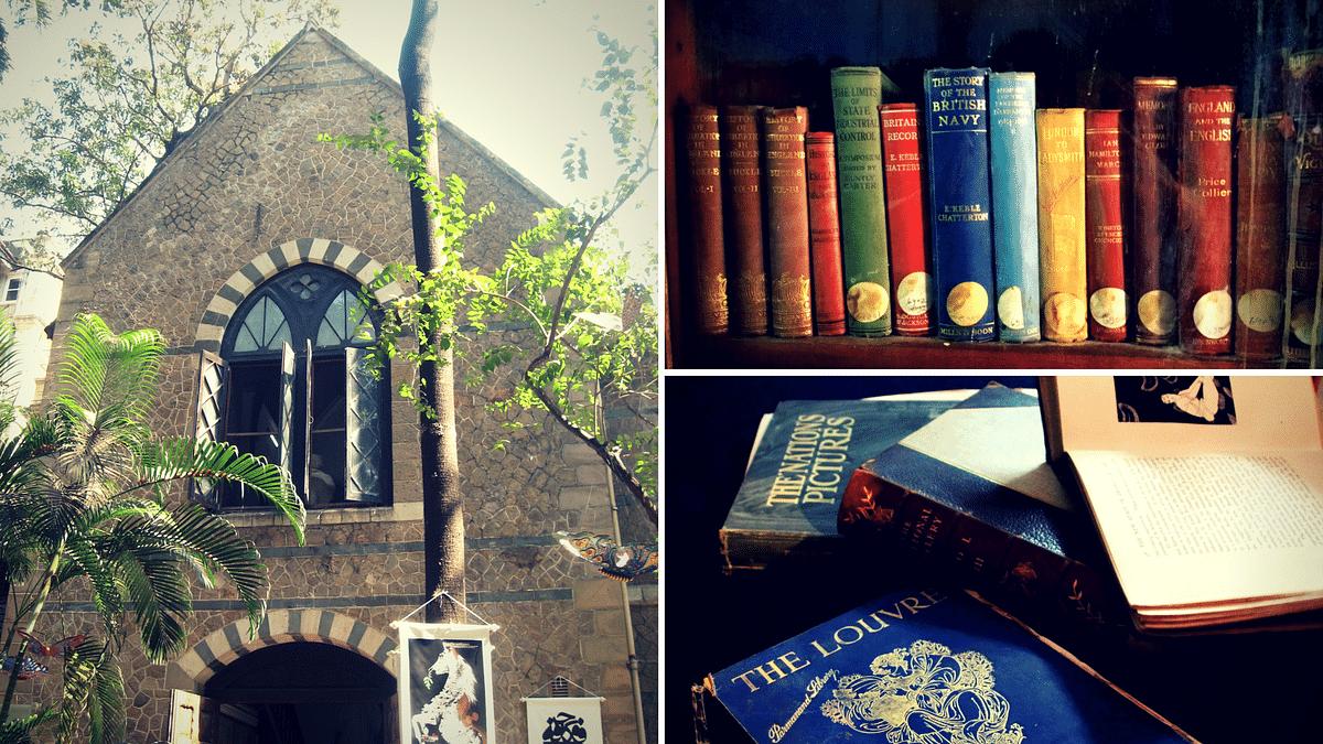 Follow the book trail. (Photo Courtesy: Anuradha Shankar; Sudha Ganapathi; Image altered by <b>The Quint</b>)
