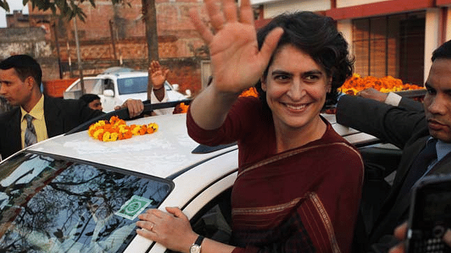 "The Congress had said on Monday that party workers want Priyanka Gandhi Vadra to play a ""larger role"" in politics."