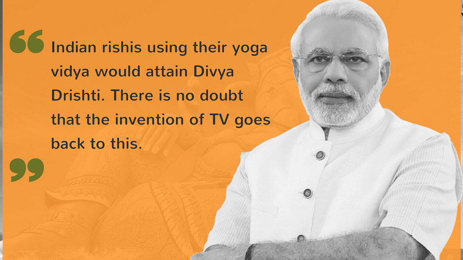 Ancient Indian TVs & Other (Un)Scientific Claims by BJP Leaders