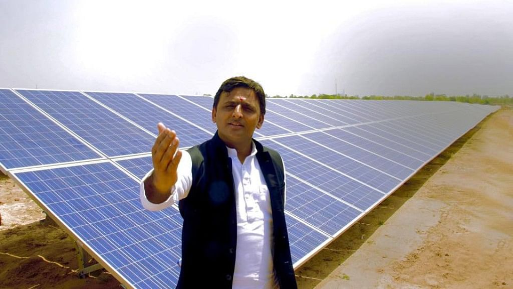 UP Chief Minister Akhilesh Yadav (Photo: Facebook/Account of Uttar Pradesh CM Akhilesh Yadav)