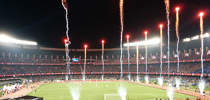Inauguration ceremony of the second season of the ISL. (Photo: <b>WIkipedia Commons</b>)