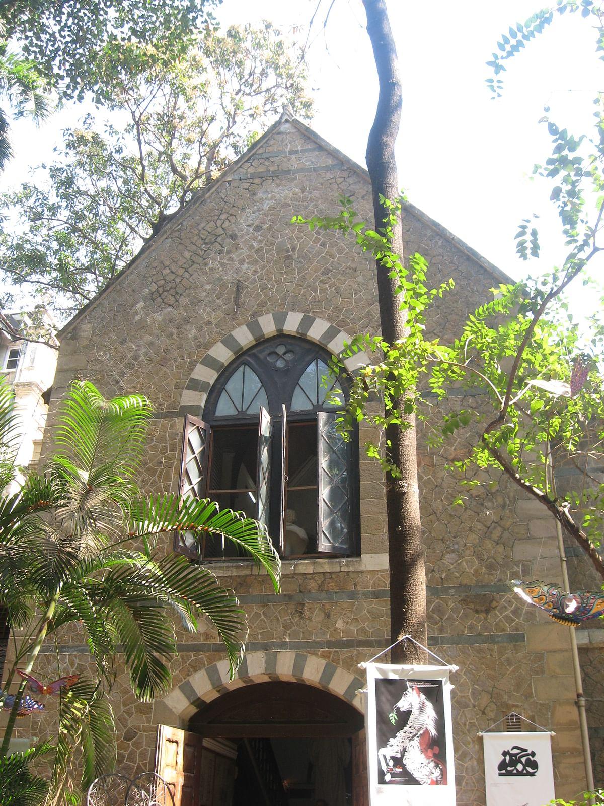 View from the back garden, David Sassoon Library. (Photo Courtesy: Anuradha Shankar)