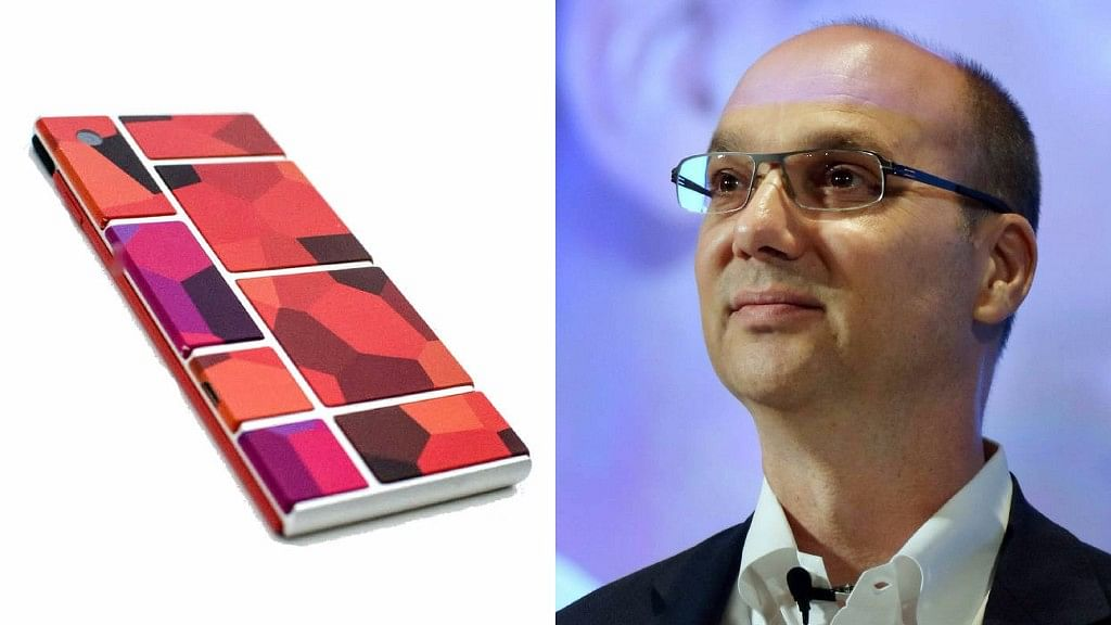 Andy Rubin is working on a modular phone based on artificial intelligence that could be the next big thing. (Photo: Altered by <b>The Quint</b>)