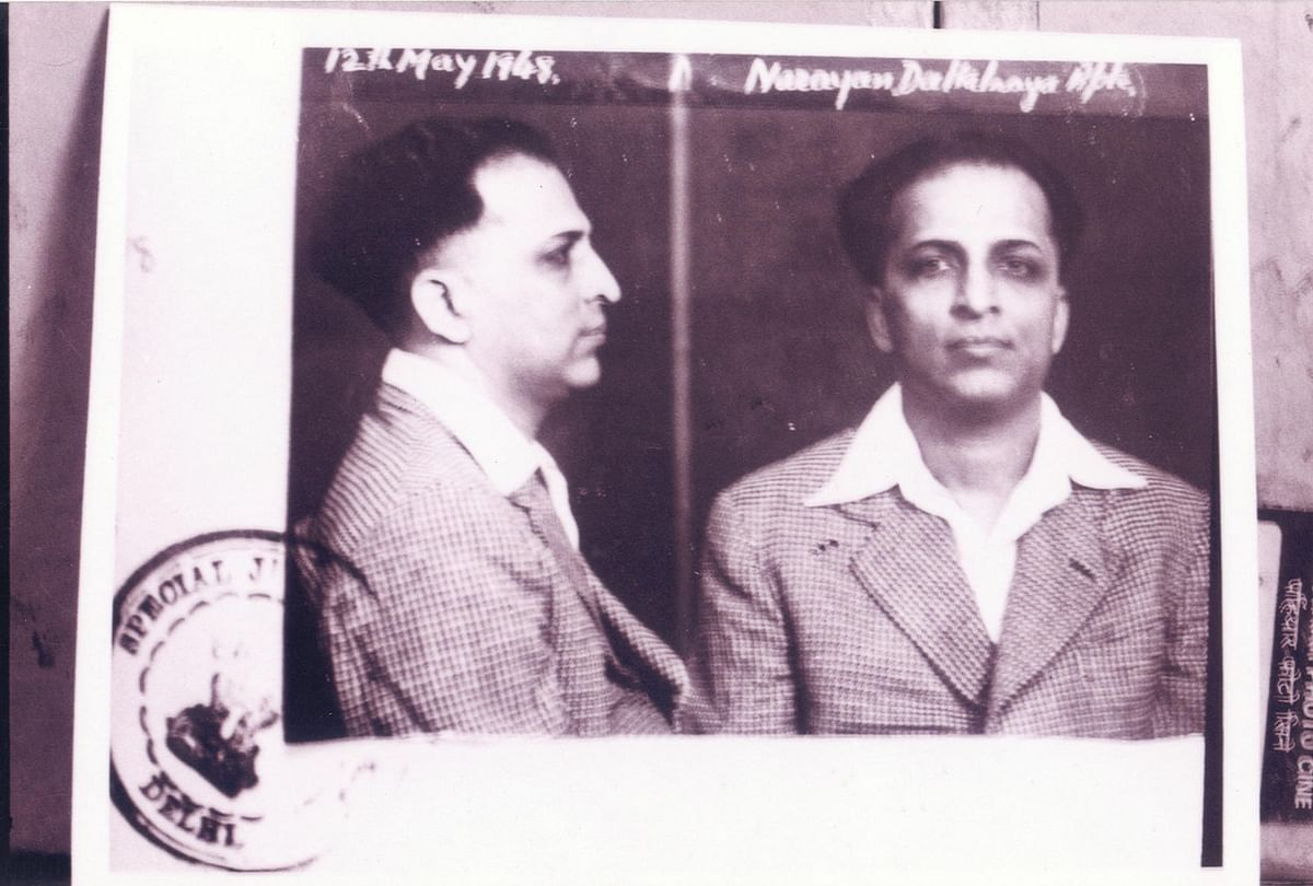 "Narayan Apte, who was also hanged along with Godse. (Photo Courtesy:<a href=""http://whokilledgandhi.com/galleries/photos/""> WhoKilledGandhi)</a>"
