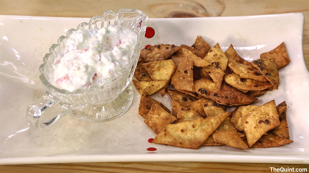 Here's our Desi Nachos to satiate your hunger and your taste buds. (Photo: <b>The Quint</b>)