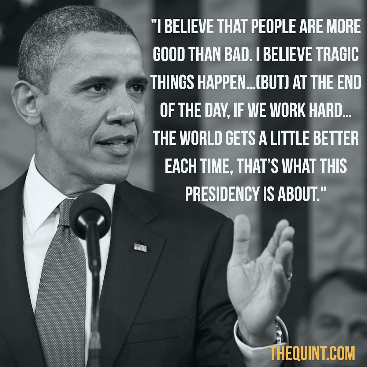 Obama's Parting Words: I Think We Are All Going to Be Okay