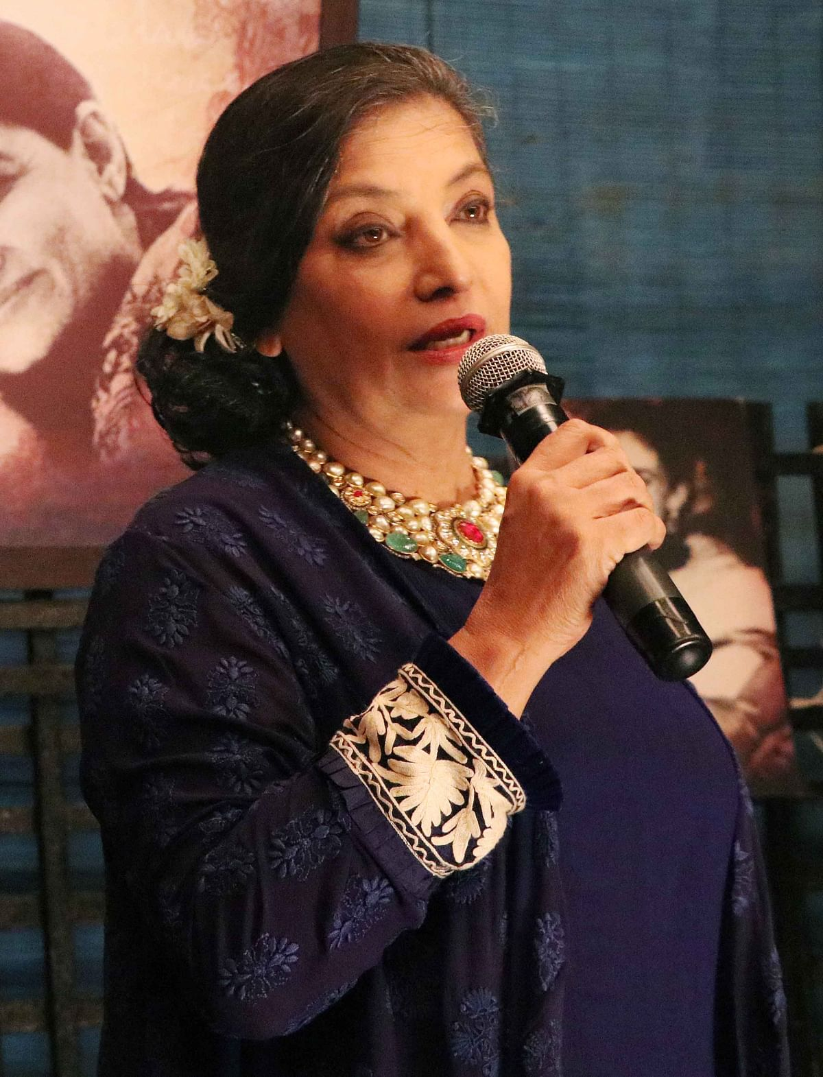 Shabana Azmi. (Photo: Yogen Shah)