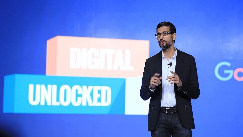 Data Localisation Could Hinder India's Digital Growth: Google CEO