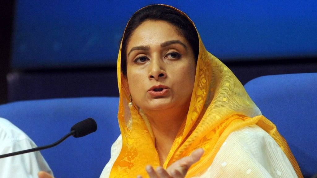 'Farmers & SAD Synonymous': Union Min Harsimrat Badal Quits Govt