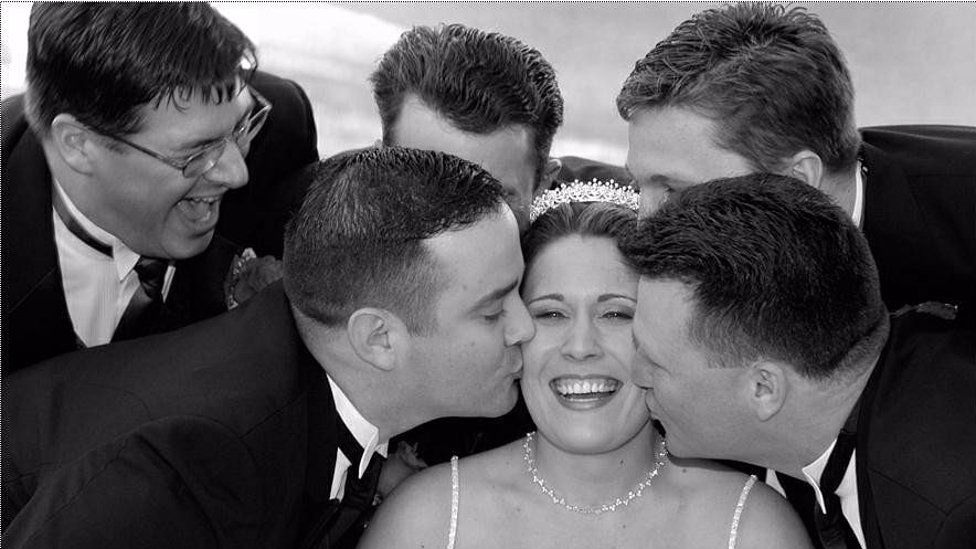 """All unmarried young men are allowed to kiss the bride in Sweden. (Photo Courtesy: <a href=""""http://https://pbs.twimg.com/media/Csy0w_iUMAADH5c.jpg"""">Twitter</a>)"""
