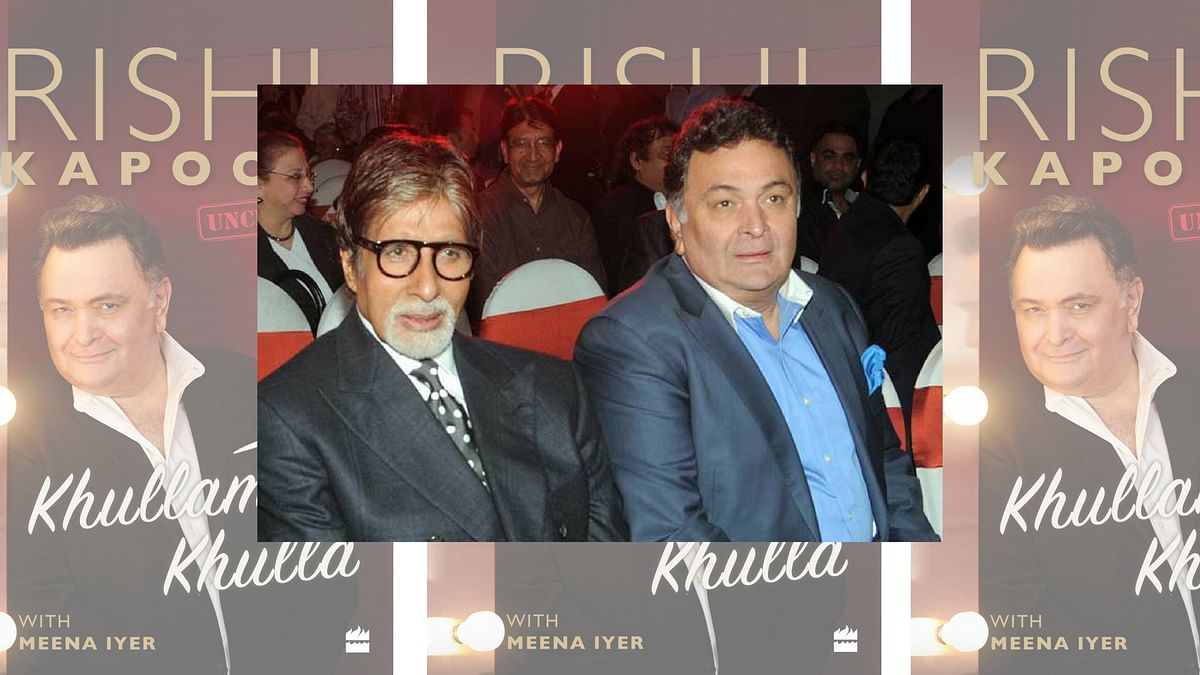 Rishi Kapoor admits that he has a lingering issue with Amitabh Bachchan. (Photo courtesy: Twitter)