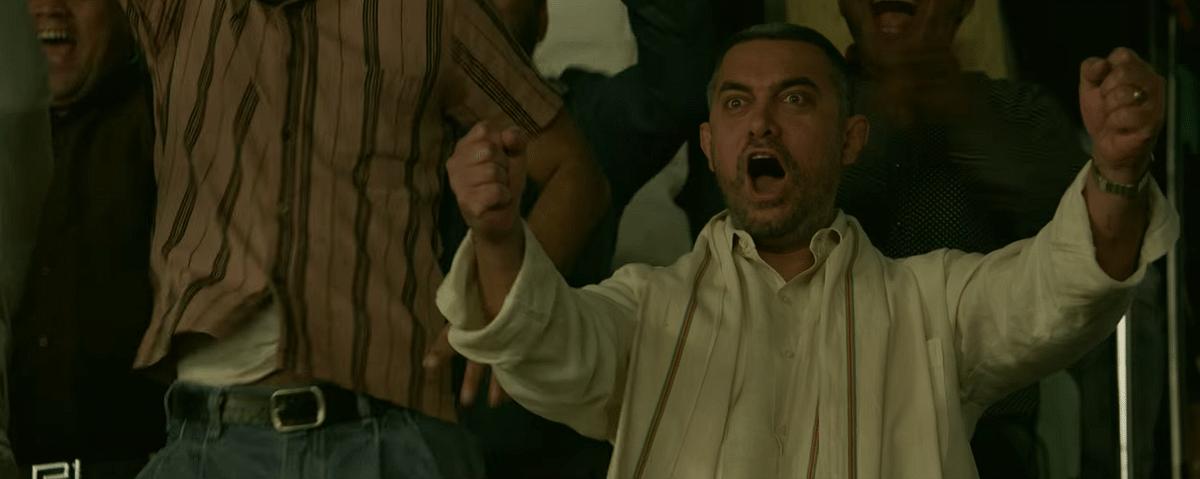 Aamir Khan as Mahavir Phogat in <i>Dangal.</i>