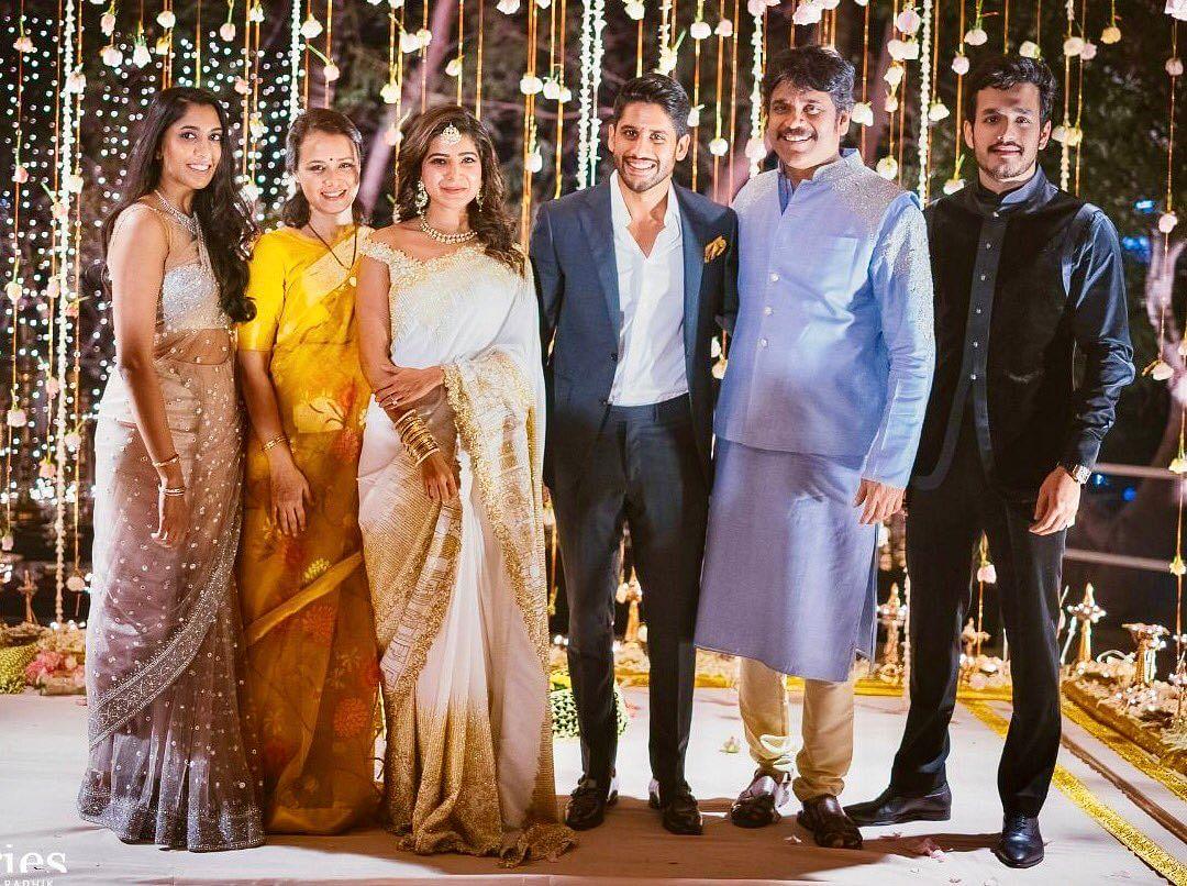 The Akkineni family. (Photo courtesy: Twitter)