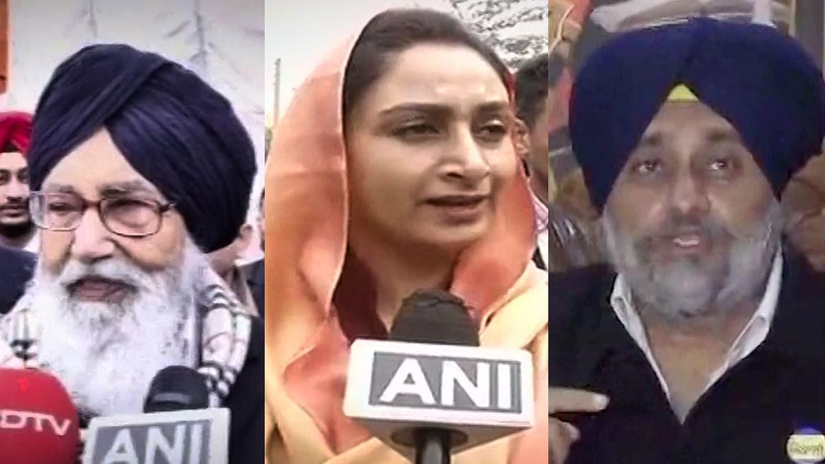 Badals Slam Sidhu, Say Punjab Will Reject Those Who Bargain