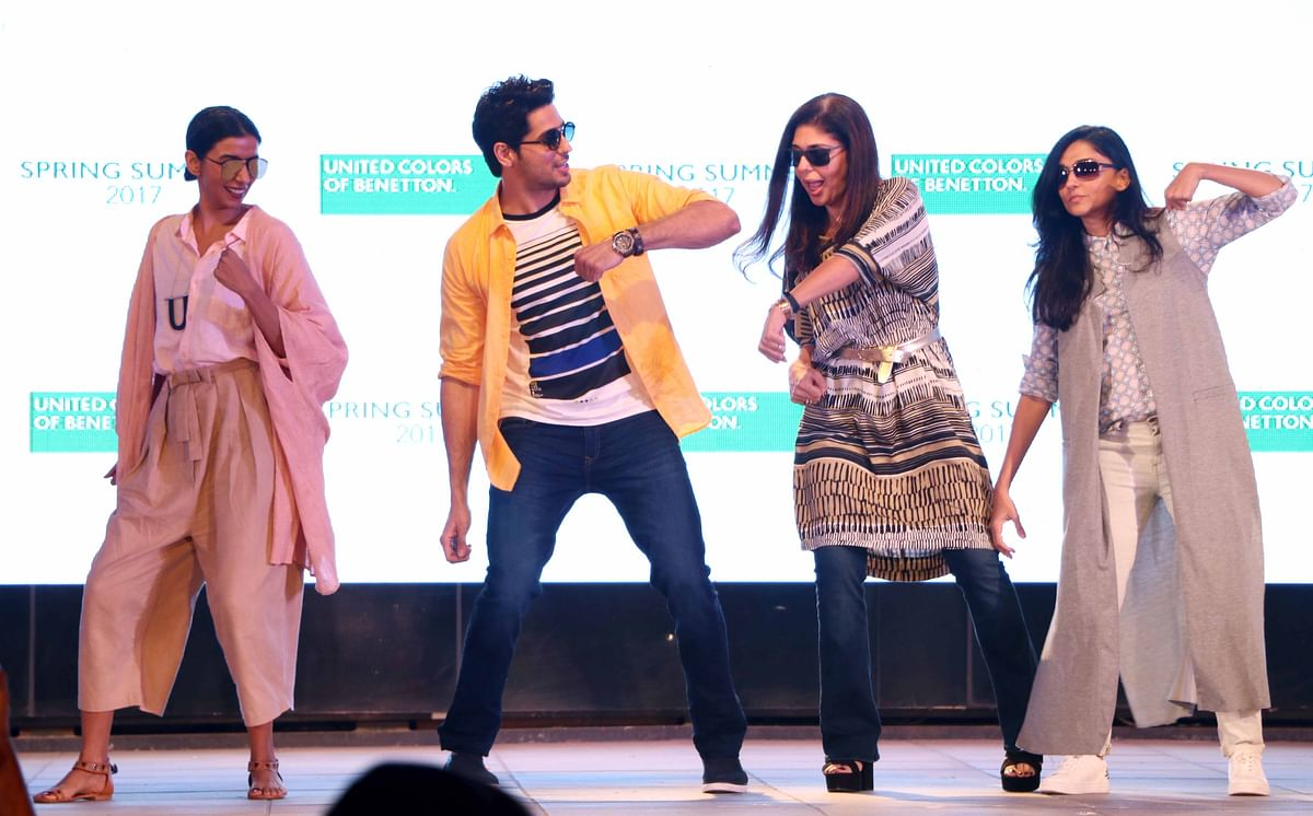 Sidharth dances to <i>Kala Chashma</i>. (Photo: Yogen Shah)