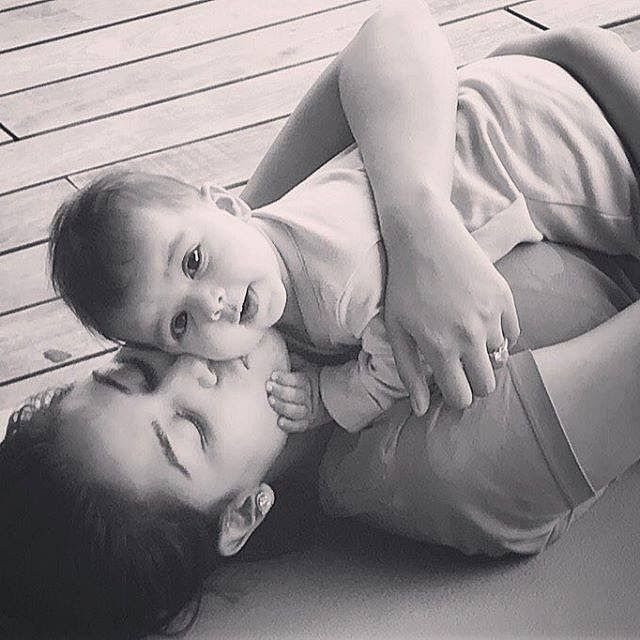 Mira and Misha together in one frame is the cutest thing you will see today. (Photo Courtesy: Facebook/ShahidKapoor)