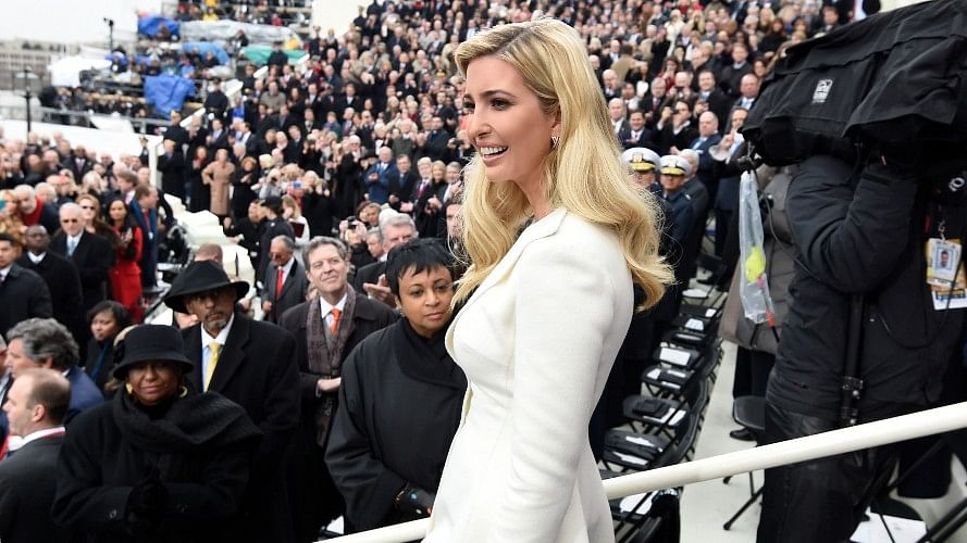 "US President Donald Trump's daughter Ivanka Trump was referred to as ""The First Whisperer""by German media. (Photo: AP)"