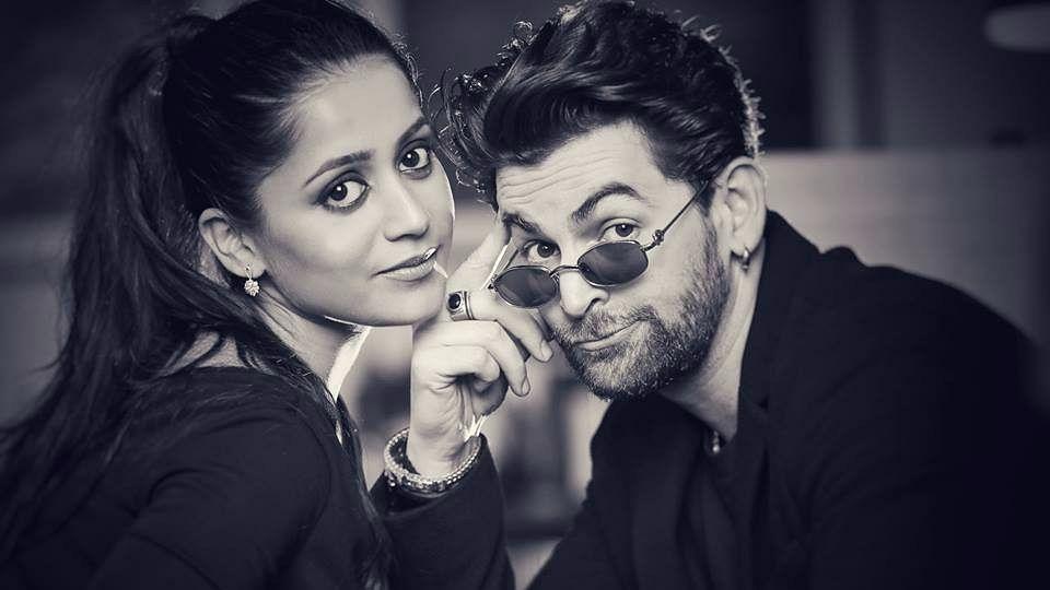 Neil Nitin Mukesh and Rukmini Sahay during their pre-wedding shoot.