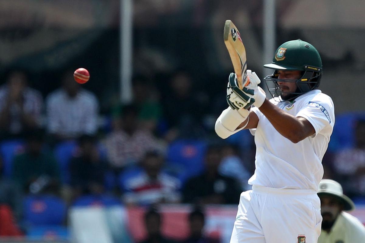 Shakib scored 82 off only 103 balls. (Photo: BCCI)