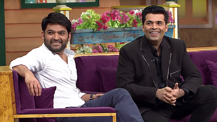 Kapil Sharma's 'Koffee With Karan' episode is  mysteriously missing. (Photo courtesy: Sony TV)