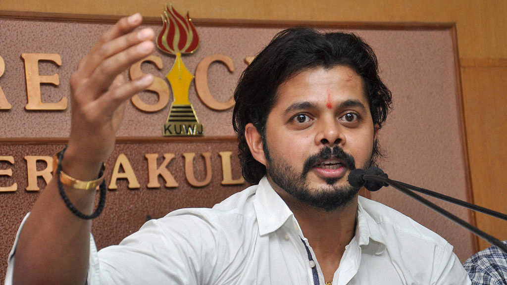 SC to Hear Sreesanth's Plea Against Life Ban Imposed by BCCI
