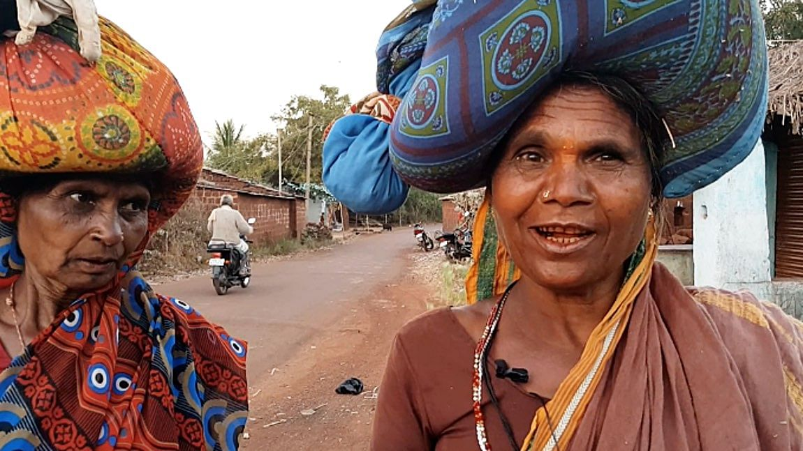 An Oxfam report said that more than 40 percent of 400 million women living in rural India work in agriculture. (Photo: <b>The Quint</b>/Parul Agrawal)