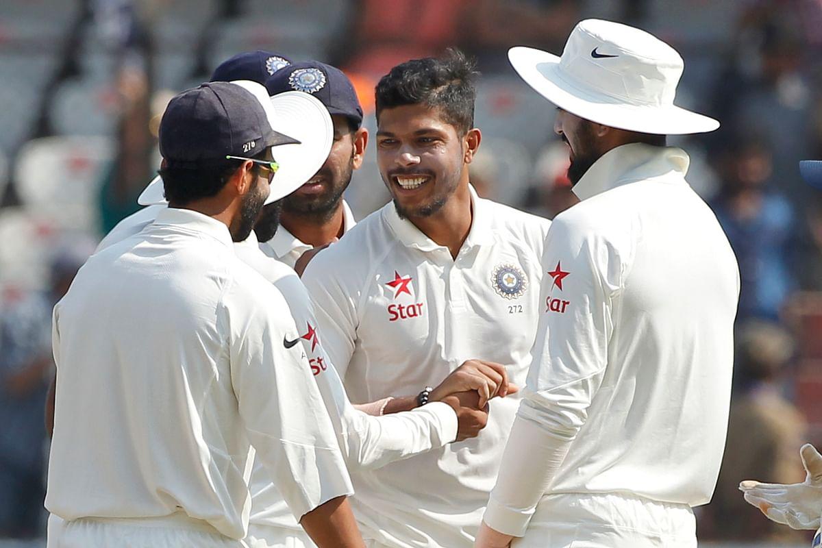 Umesh Yadav picked one wicket on Saturday. (Photo: BCCI)